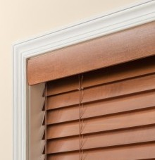 wood optional crescent valance