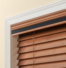 wood tape valance